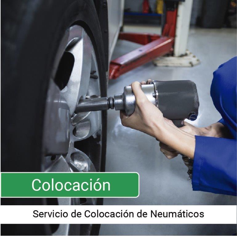 Servicio Colocación de Neumáticos